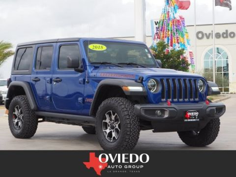 Pre-Owned 2018 Jeep Wrangler Unlimited Rubicon 4WD 4x4 Rubicon 4dr SUV (midyear release)