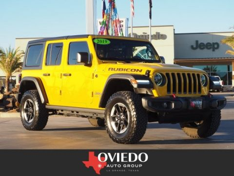 Pre-Owned 2019 Jeep Wrangler Unlimited Rubicon 4WD 4x4 Rubicon 4dr SUV