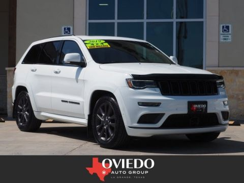 Pre-Owned 2019 Jeep Grand Cherokee Overland 4WD 4x4 Overland 4dr SUV