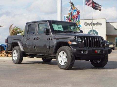 New 2020 JEEP Gladiator Sport S 4WD Crew Cab