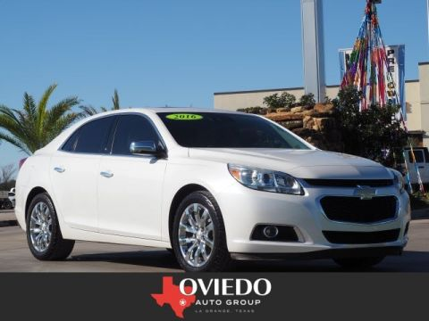 Pre-Owned 2016 Chevrolet Malibu Limited LTZ FWD LTZ 4dr Sedan