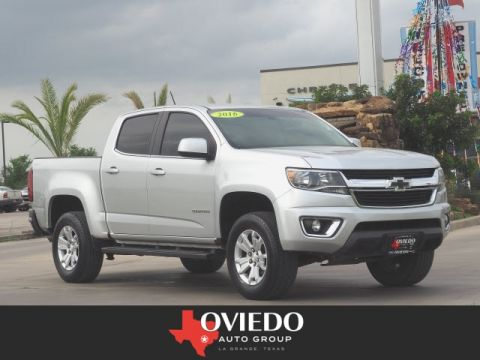 Pre-Owned 2016 Chevrolet Colorado LT 2WD 4x2 LT 4dr Crew Cab 5 ft. SB